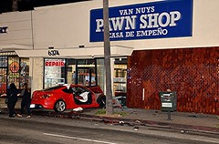 Van Nuys Collision Sends Three to the Hospital