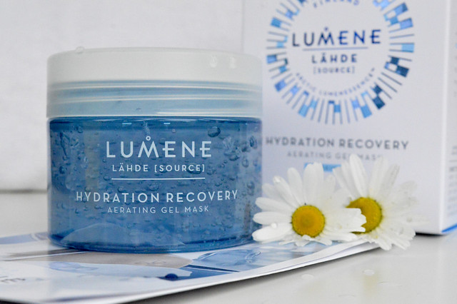 Lumene Lähde Hydration Recovery Aerating Gel Mask