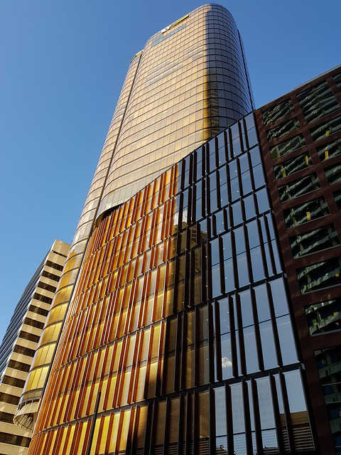 EY Building Circular Quay Sydney near Sunset - Samsung Galaxy Note 8 photo example