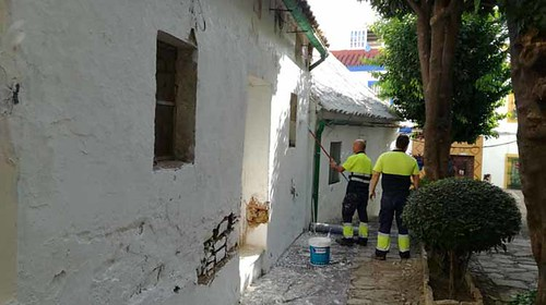 Trabajos calle Cristo de Medinaceli1