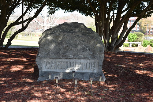 GRAVE OF BOOKER T. WASHINGTON