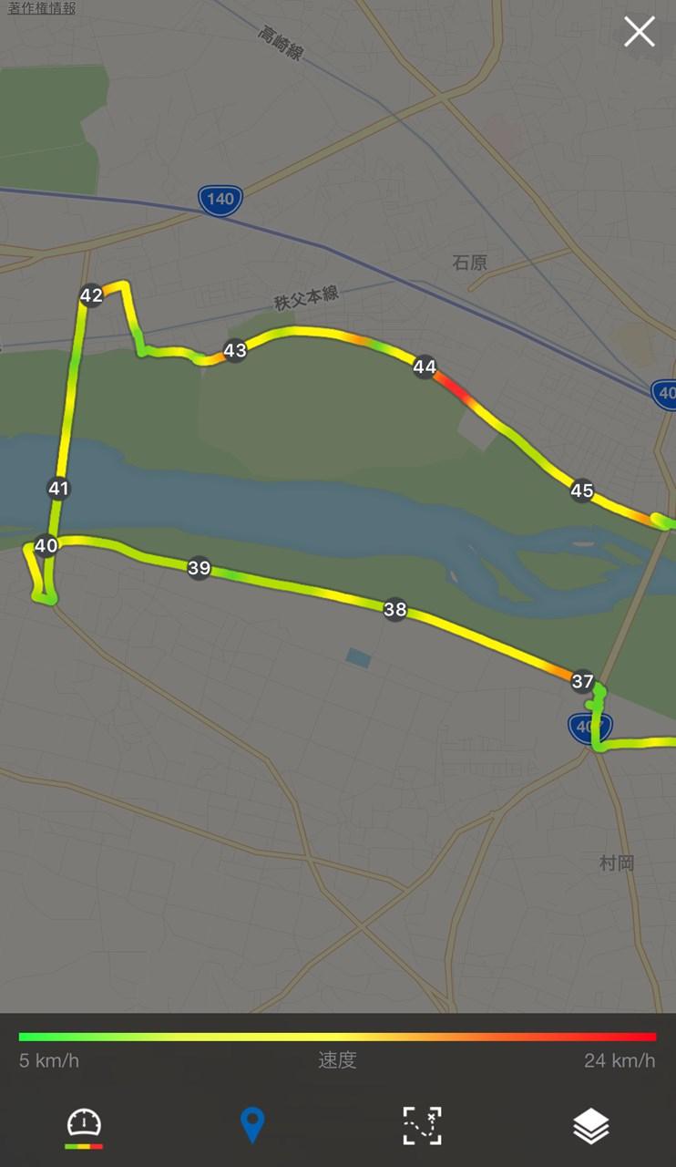 4.熊谷大橋折返し