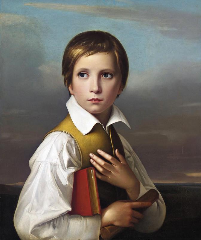 Friedrich Wilhelm Schadow - Porträt Felix Schadow (1829)