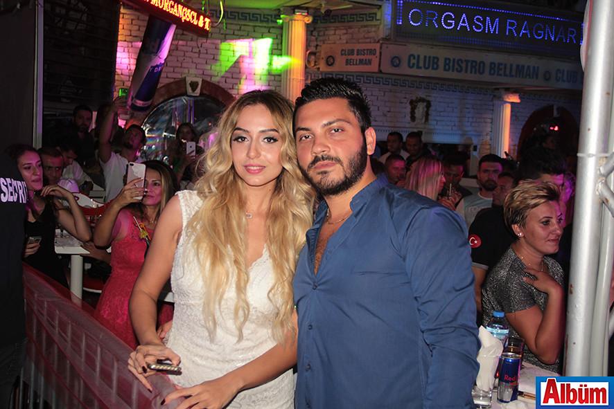Aytaç Sarıdoğan da konserdeydi.