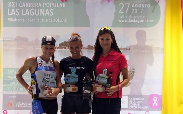 "Carrera Popular Las Lagunas-Homenaje ""en rosa"""