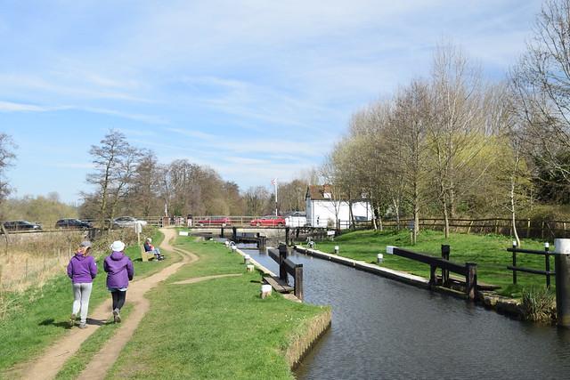 Catteshall Lock