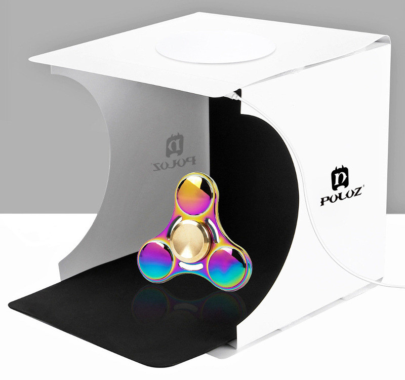 puluz mini portable foldable studio box tent กล่องถ่ายภาพ ถ่ายรูป สตูดิโอ