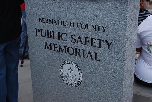 Bernalillo County Public Safety Memorial - East Mountains