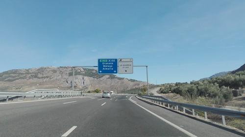 A44 - saída La Guardia de Jaén