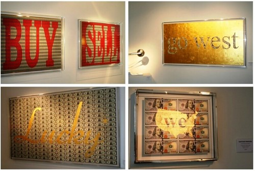Money Artist Santiago Montoya mosaics2
