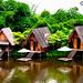 Dusun Bambu Huts