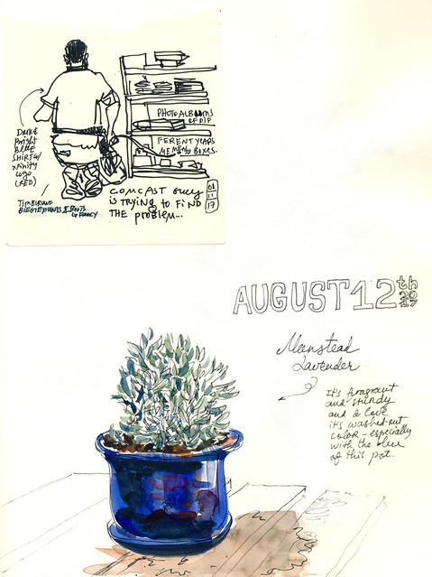 Sketchbook #107: Everyday Life