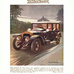 Tue, 2017-09-19 22:32 - How plush! From a London hotel guide of 1913 an advert for the upmarket car marque of De Dion Bouton. The artist J Inder Burns.