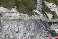 You don't want the white cliffs to fall on your car....