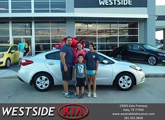#HappyBirthday to Luis  from Wilfredo Suliveras at Westside Kia!