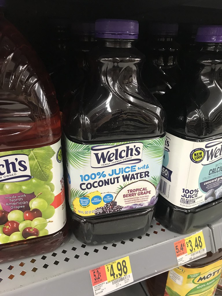 Welch's Coconut Grape juice