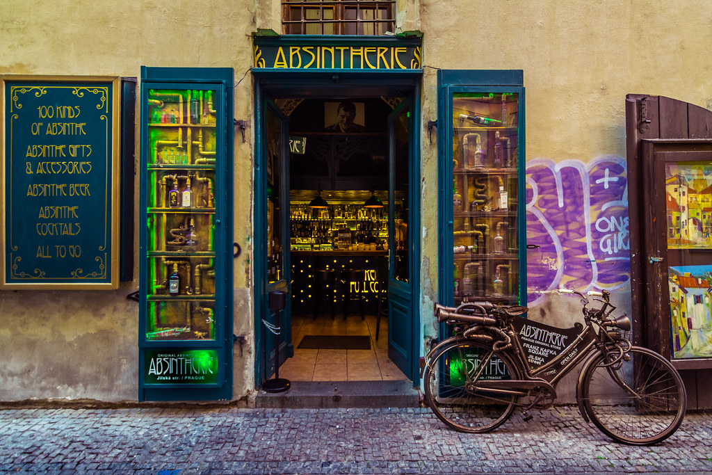 Absintherie, Old Town, Prague, Czech Republic