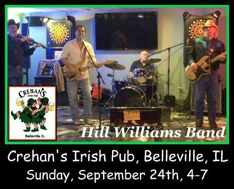 Hill Williams Band 9-24-17