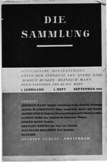 Klaus Mann Die Sammlung