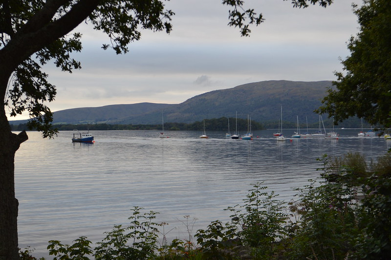 View of Loch Lomond from Milarrochy Bay loch lomond campsite