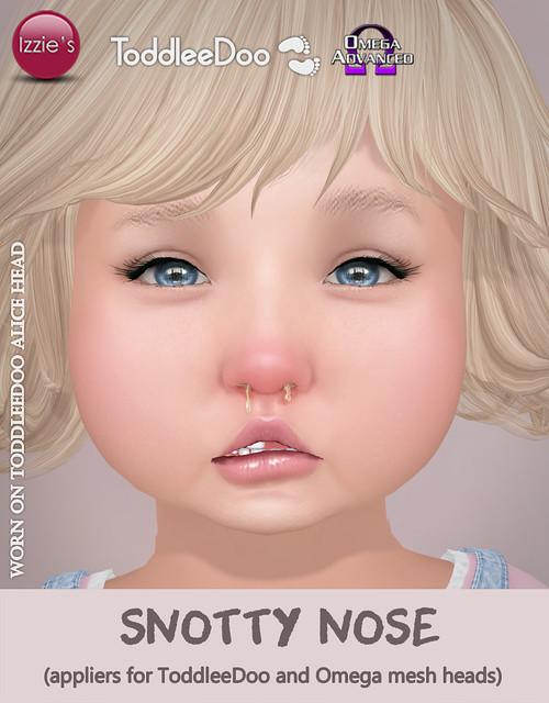 TD & Omega Snotty Nose (Gift)