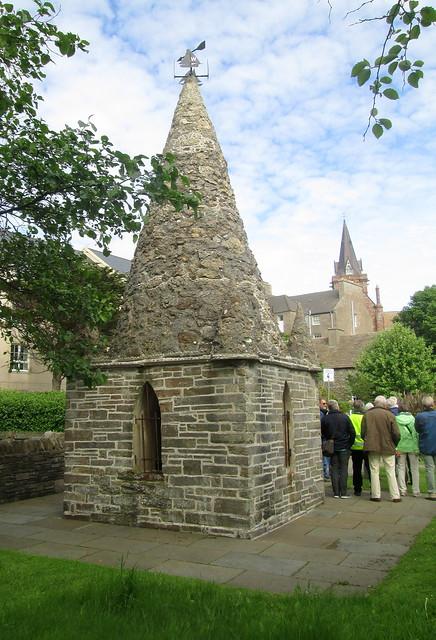 Groatie Hoose in Orkney Museum Garden