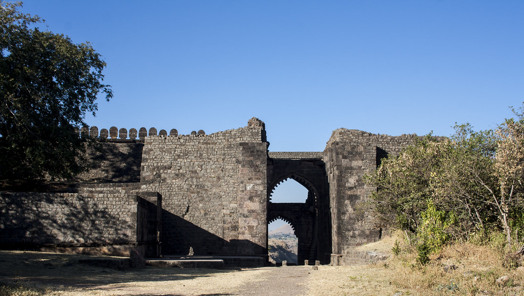Delhi Gate in Mandu, Madhya Pradesh, India