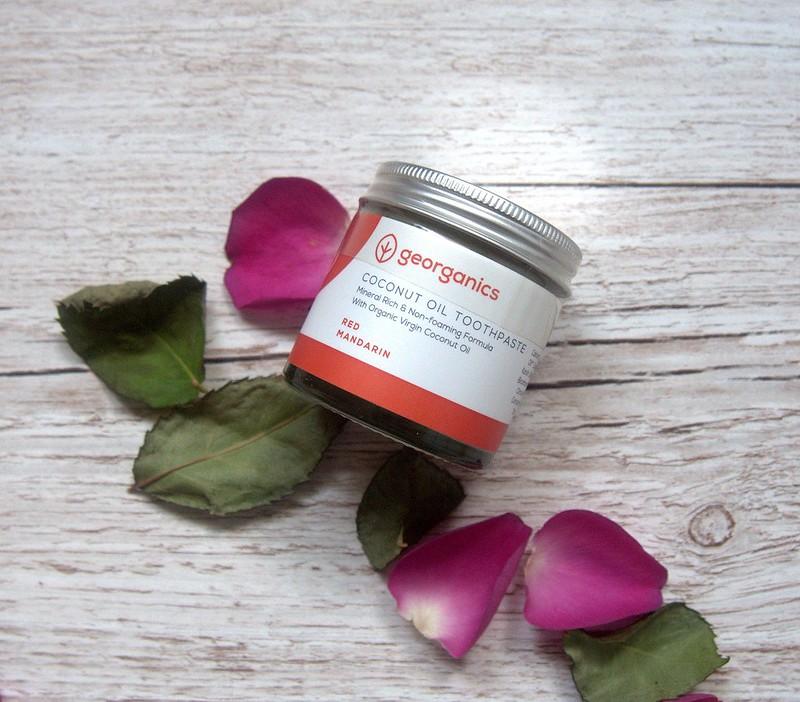 Georganics Red Mandarin toothpaste