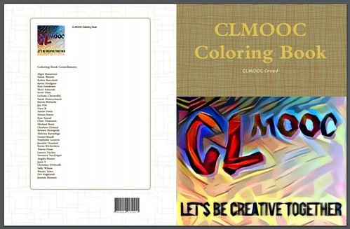 CLMOOC Coloring Book Cover