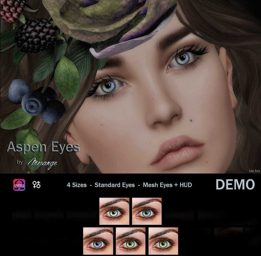 MESANGE - Aspen Eyes for THE HIDDEN CHAPTER - SecondLifeHub.com
