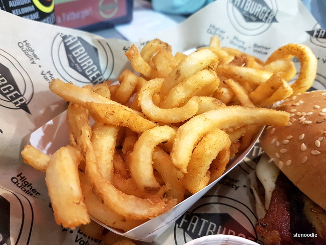 Curly Fries with Cajun powder