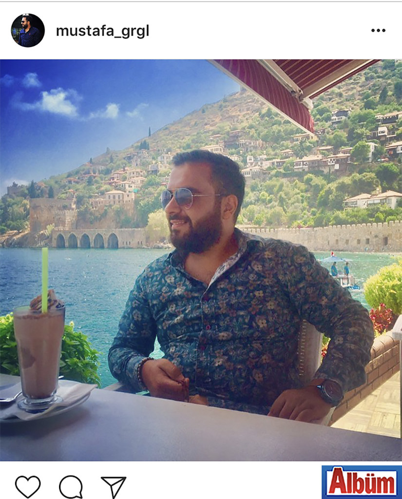 Görgülü Group'un sahibi Mustafa Görgülü, Rıhtım Restoran'da Alanya manzarasının tadını çıkardı.