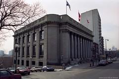 Bibliothèque centrale. 1993. VM94-1993-0159-005. Archives de la Ville de Montréal.