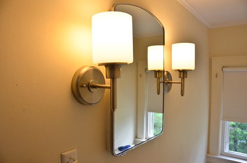 Replace wall sconce!