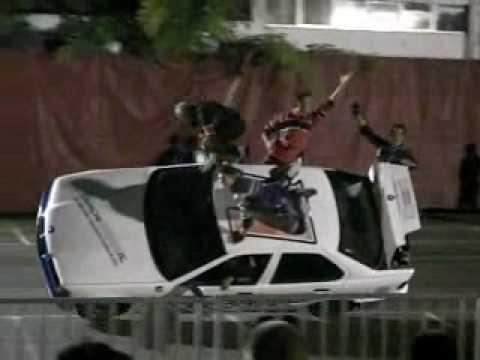 stuntman show rossi