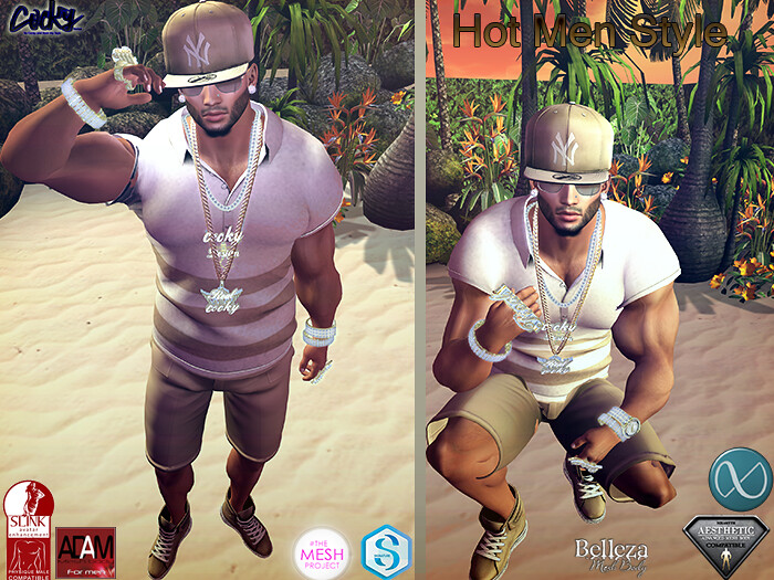 Hot Men Style ad - SecondLifeHub.com