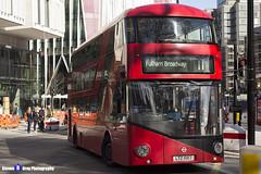 Wrightbus NRM NBFL - LTZ 1067 - LT67 - Fulham Broadway 11 - Go Ahead London - London 2017 - Steven Gray - IMG_6418