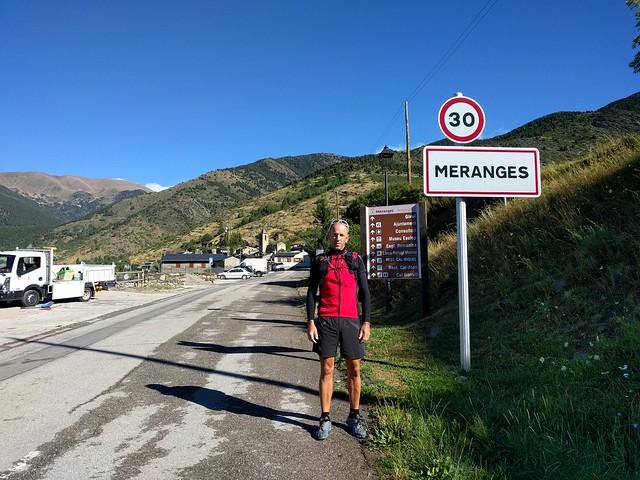 Vacaciones 2017: Meranges – Bellver – La Seu d'Urgell. 10-13 Agosto