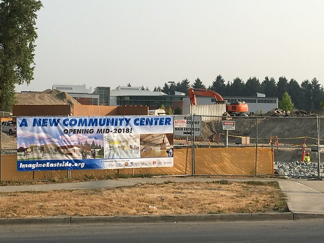 Eastside Community Center Construction Photos