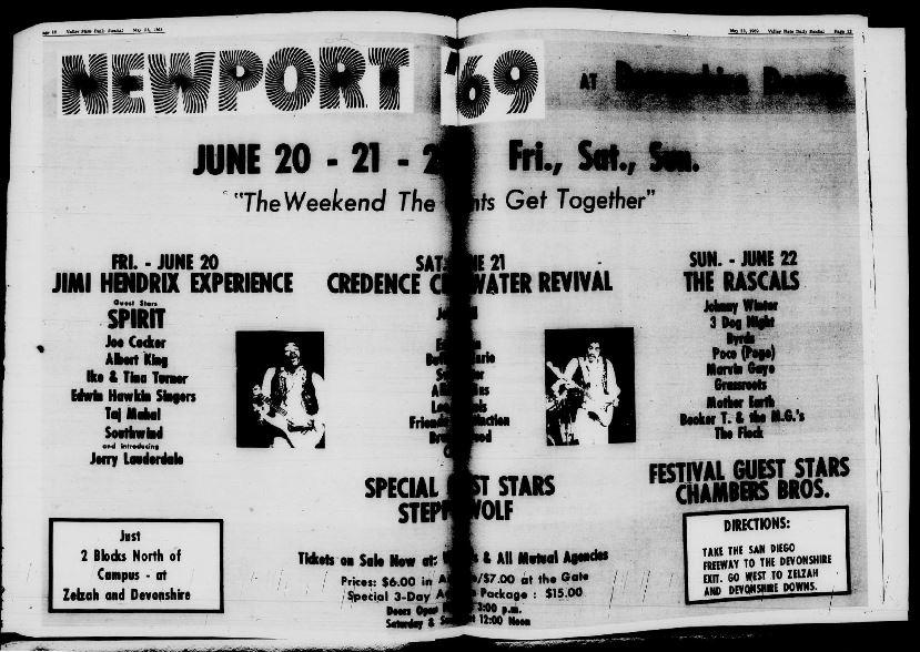 Valley State Daily Sundial - Northridge, California 1969-05-23