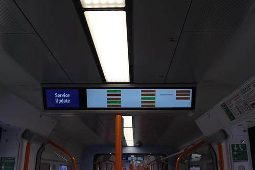 Class 707 Information Screen