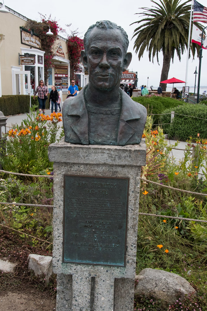 Bust of John Steinbeck | Monterey | Cannery Row