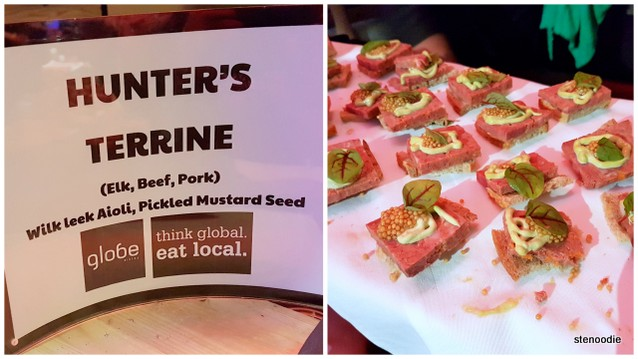 Hunter's Terrine from Globe Bistro