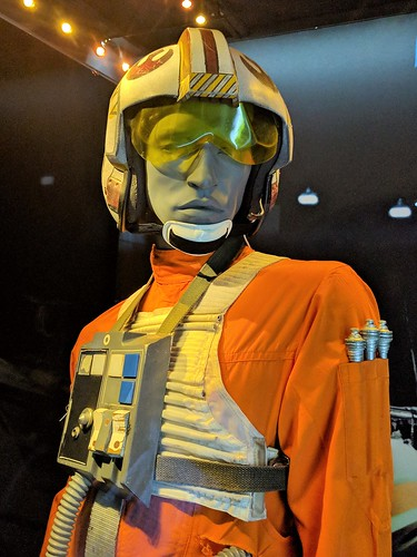 Luke's Pilot Costume Closeup