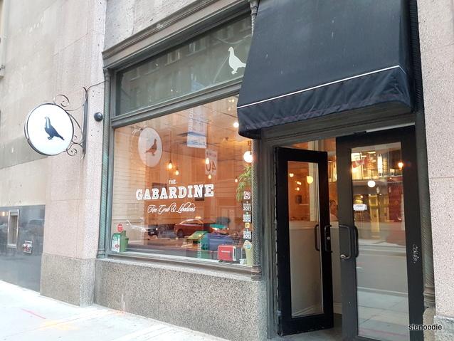 The Gabardine storefront