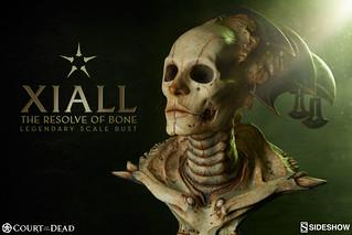 防小偷必備聖品!!Sideshow Collectibles【骨之占卜師:Xiall】Court of the Dead 1/3 比例半身胸像作品