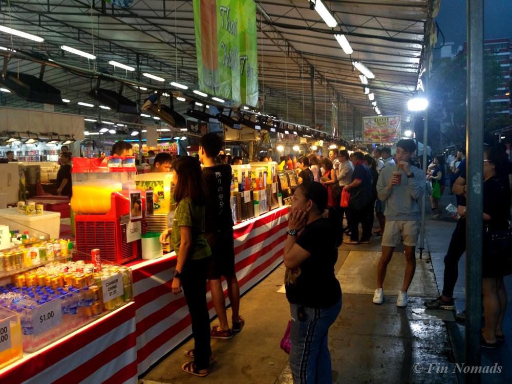 singapore budget food