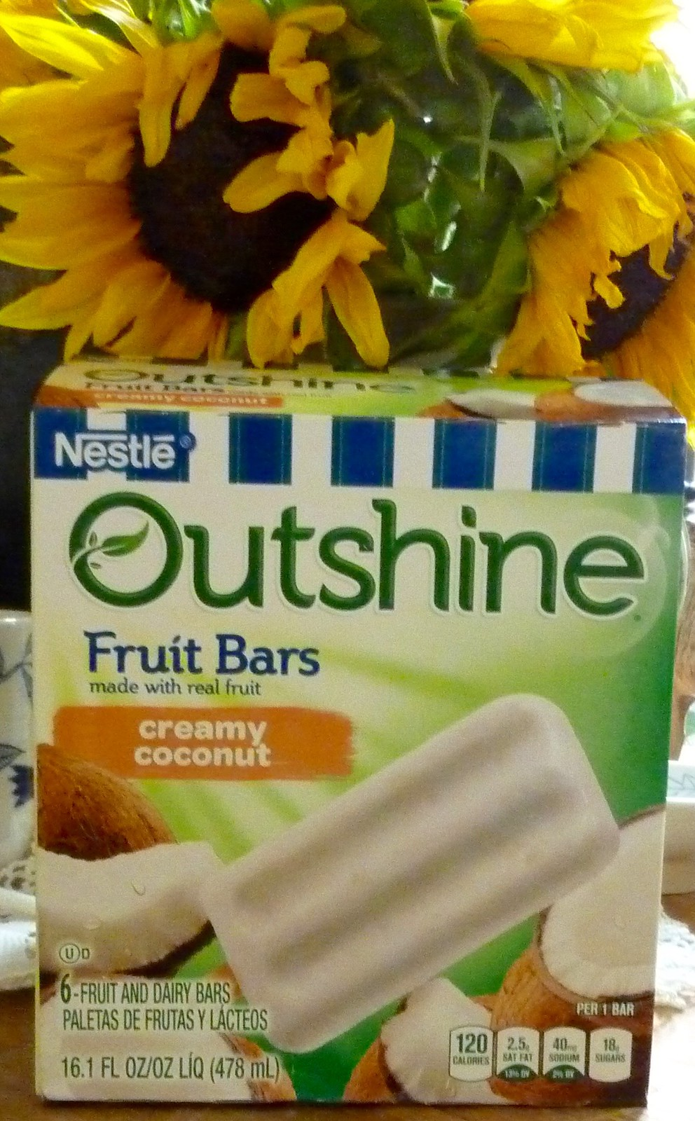 Coconut Fruit Bars