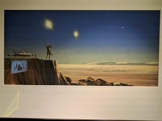 Ralph McQuarrie Luke Concept Painting