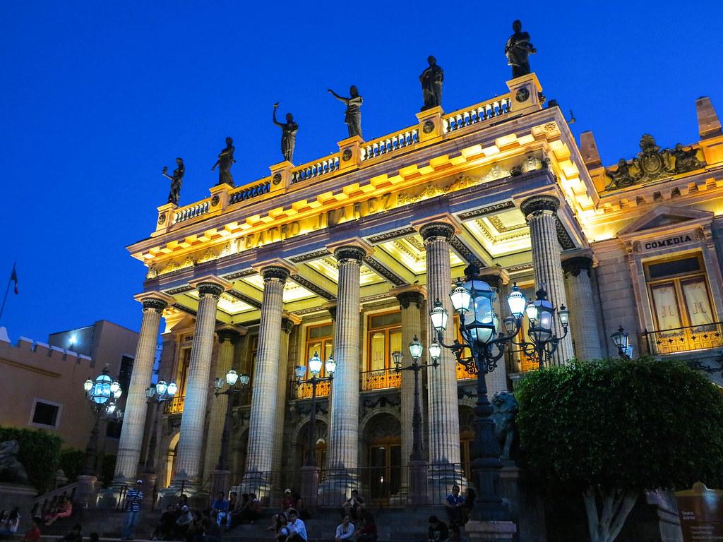 Teatro Juarez en Guanajuato